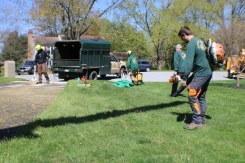 Customer service - Yard clean up post tree maintenance
