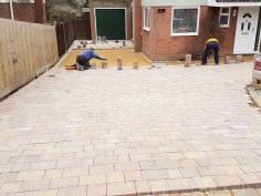 Block paving driveway Bradwell-on-Sea4