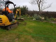Marking up & digging out shed base goldhanger2