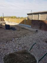 Removal of existing patio crushed concrete has been laid and levels have been made( St Nicholas Road Tillingham)2