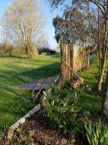 Taking down existing boundary fence1