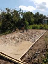 Preparing for concrete for this evening dengie marshes 3