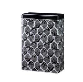 Dark Grey Dots Small can in Danish Design. 14,6x7,6x20,3 Euro 7