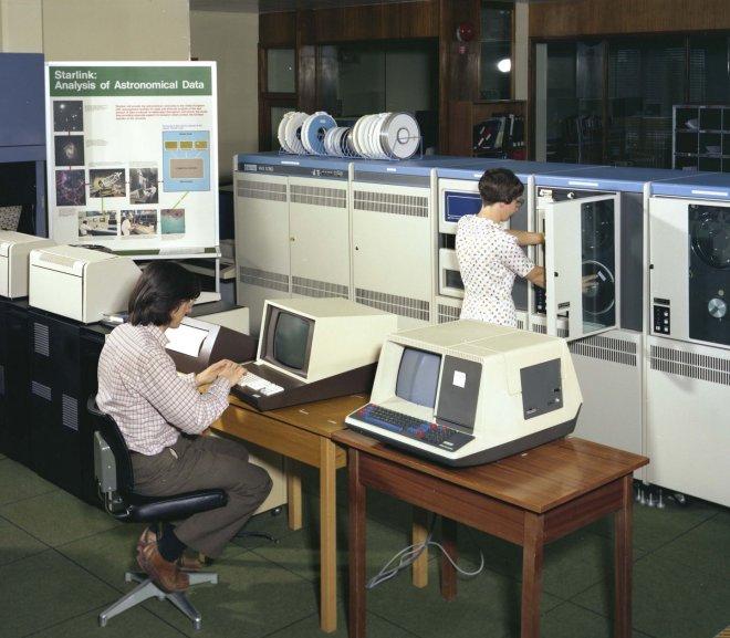 História do CIISA: criação e vivência mini computadores VAX