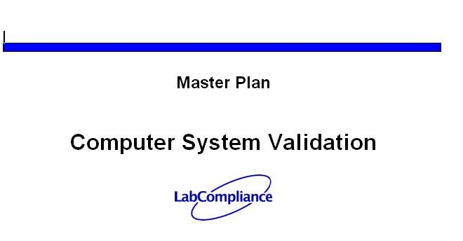 Computer System Validation Template – Word File Download