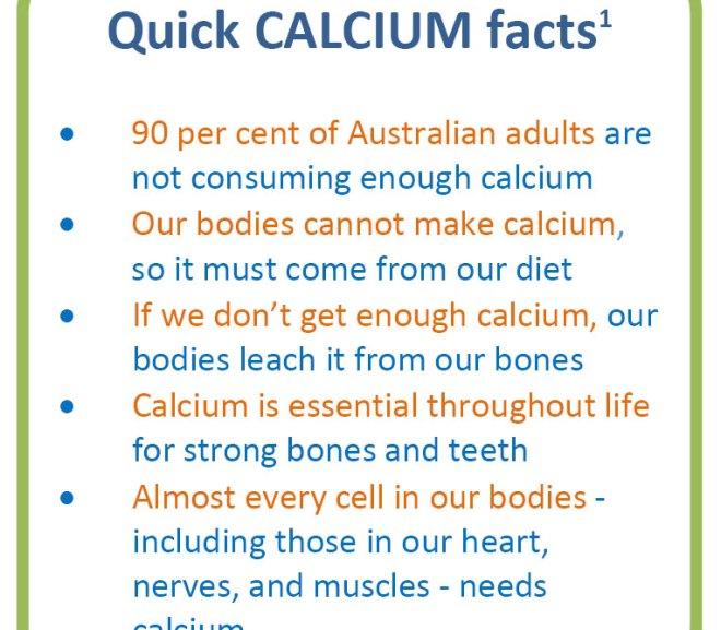 Calcium – Fact Sheet for Health Professionals