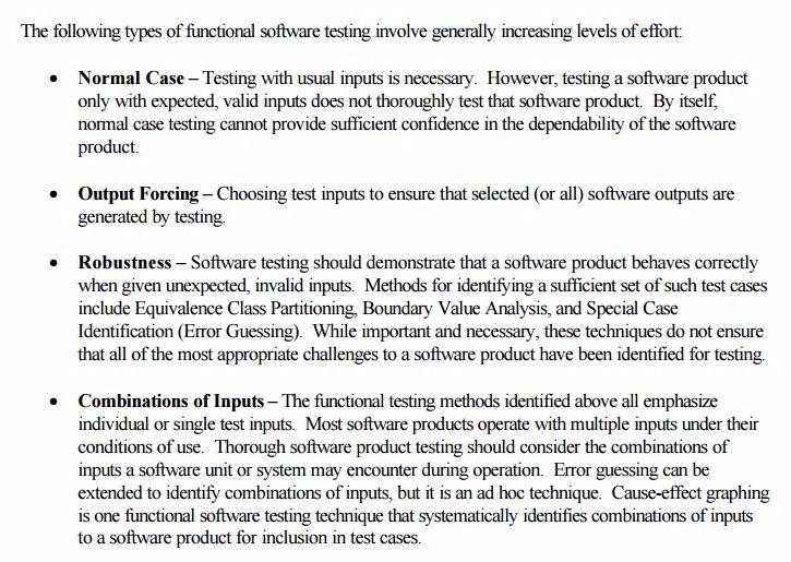 General Principles of Software Validation