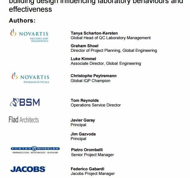 Incorporating Lean Principles into Pharmaceutical QC Laboratory Design – PDF Download