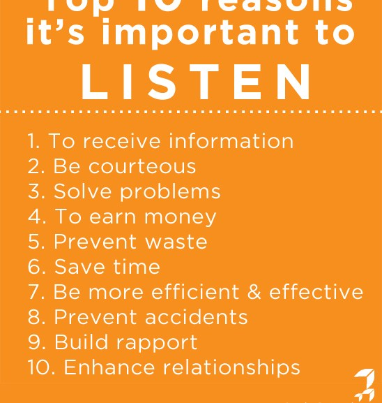 Listening: the Foundation of All Communication