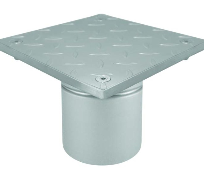 Industrial Stainless Steel Gullies / Floor Drains for Pharmaceutical Plants