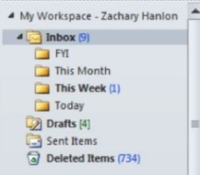 The Only Five Email Folders Your Inbox Will Ever Need