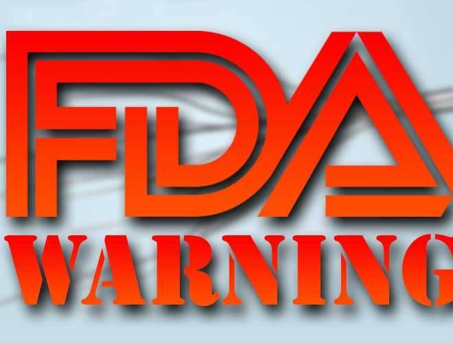 FDA FY2018 Drug GMP Warning Letters