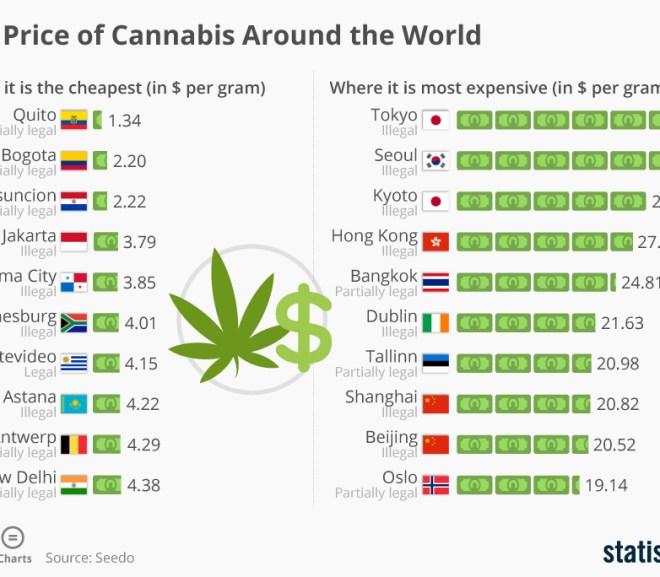 The Price of Cannabis Around the World