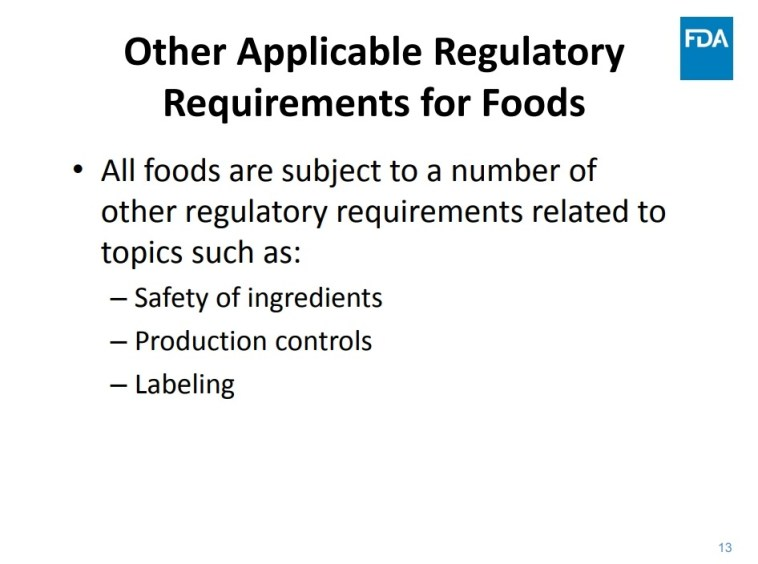 FDA Role in Regulation of Cannabis Products - Free