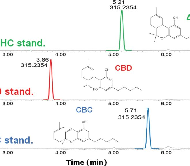 Analysis of Isomeric Cannabinoid Standards and Cannabis Products by UPLC-ESI-TWIM-MS