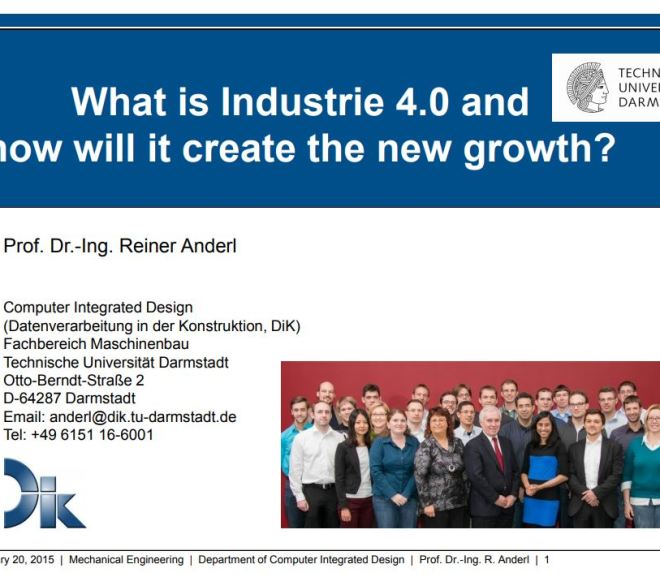 What is Industrie 4.0 and how will it create the new growth?