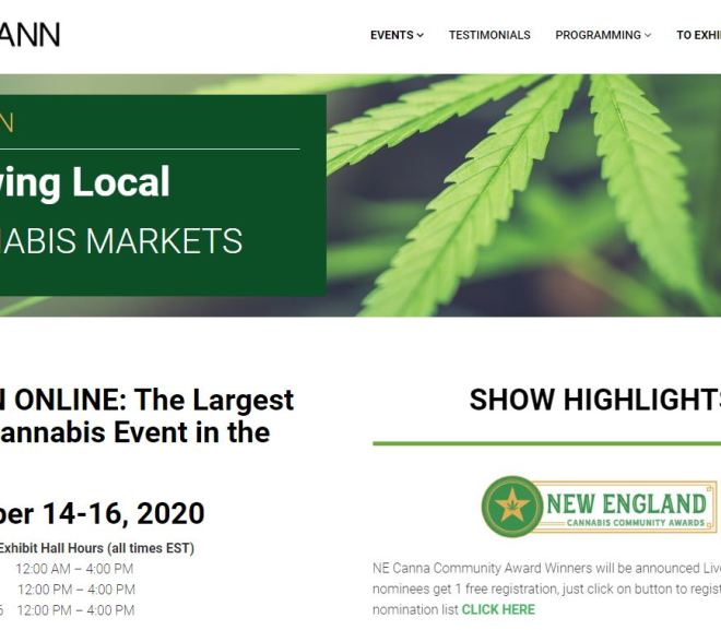 NECANN ONLINE: The Largest Digital Cannabis Event in the World!