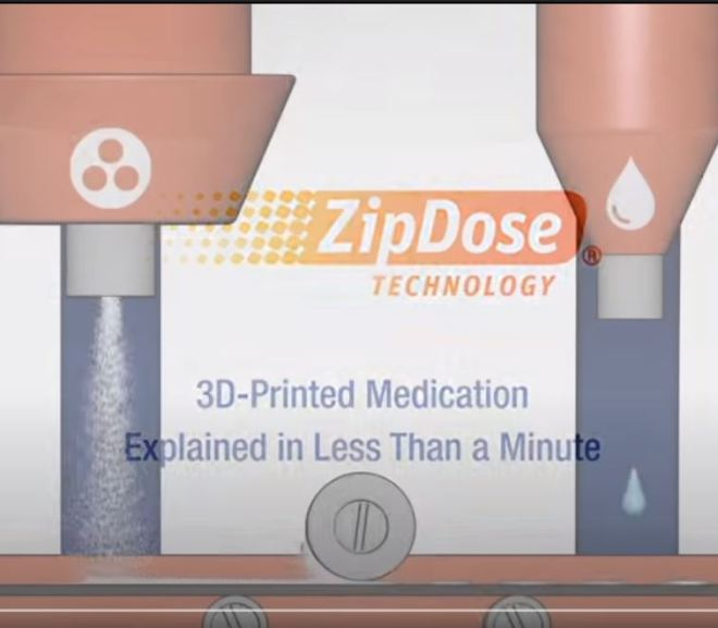3D printed Medication: Explanined in less than a minute – Video Youtube
