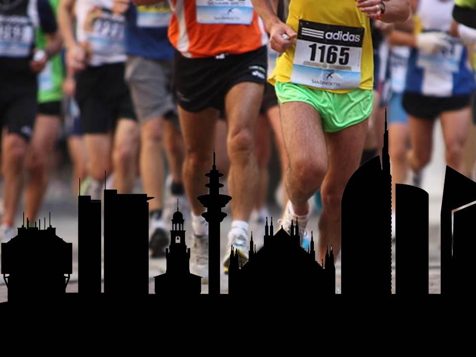 Milano di corsa / Milan in a rush - manoxmano per Milano Marathon 2016