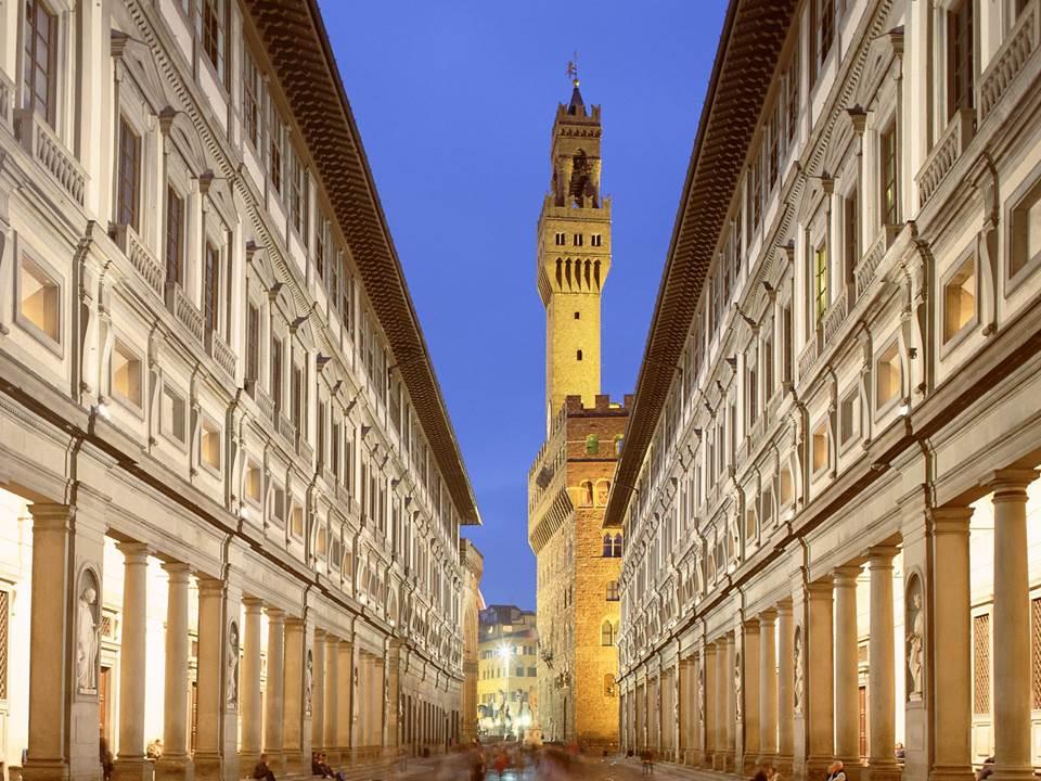 gli Uffizi di Firenze a Milano