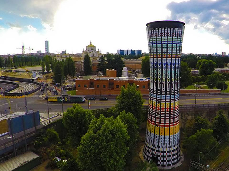 storia della torre arcobaleno