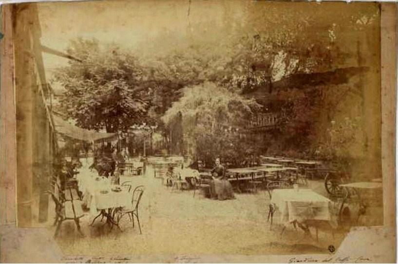 caffè cova giardino