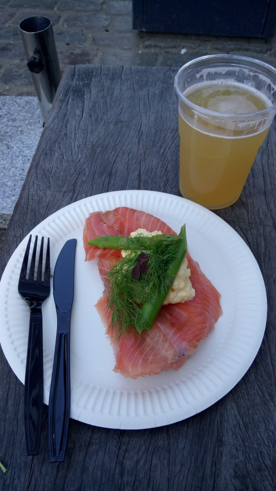 Smørrebrød and Danish Beer