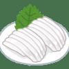 佐賀呼子の海中レストランで食す、いかの活き造り