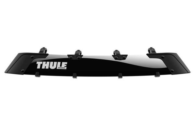 inno エアロラック IN569に THULE  エアスクリーン TH8701を装着