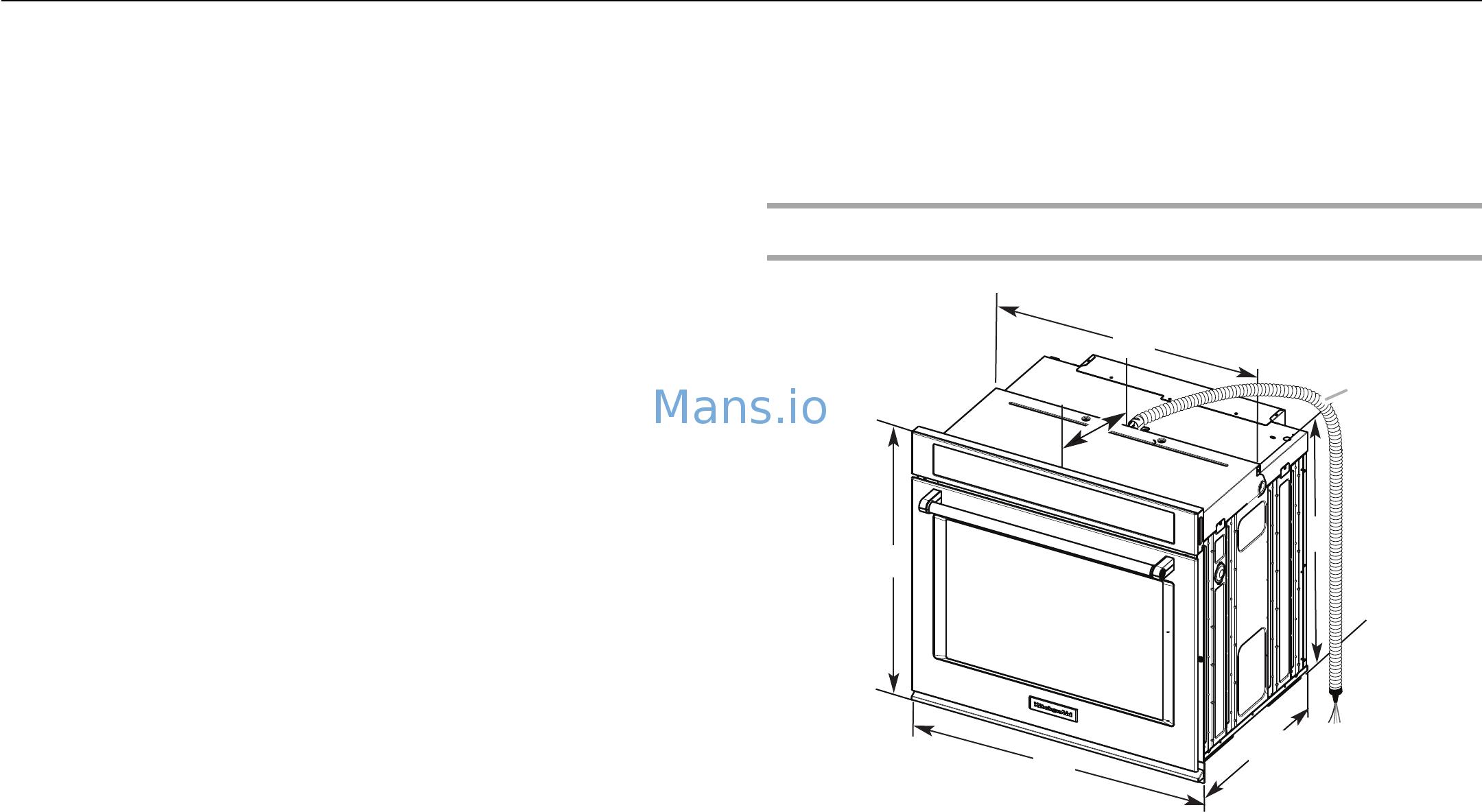 Kitchenaid Kode300ess Installation Guide Page 3