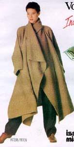 Miyake coat