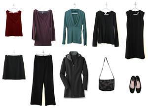 Miss Minimalist's capsule wardrobe