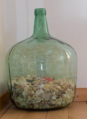 Shell bottle