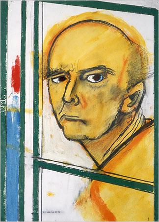 William Utermohlen self portrait 1996
