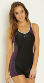 Speedo Winner Clipback legsuit