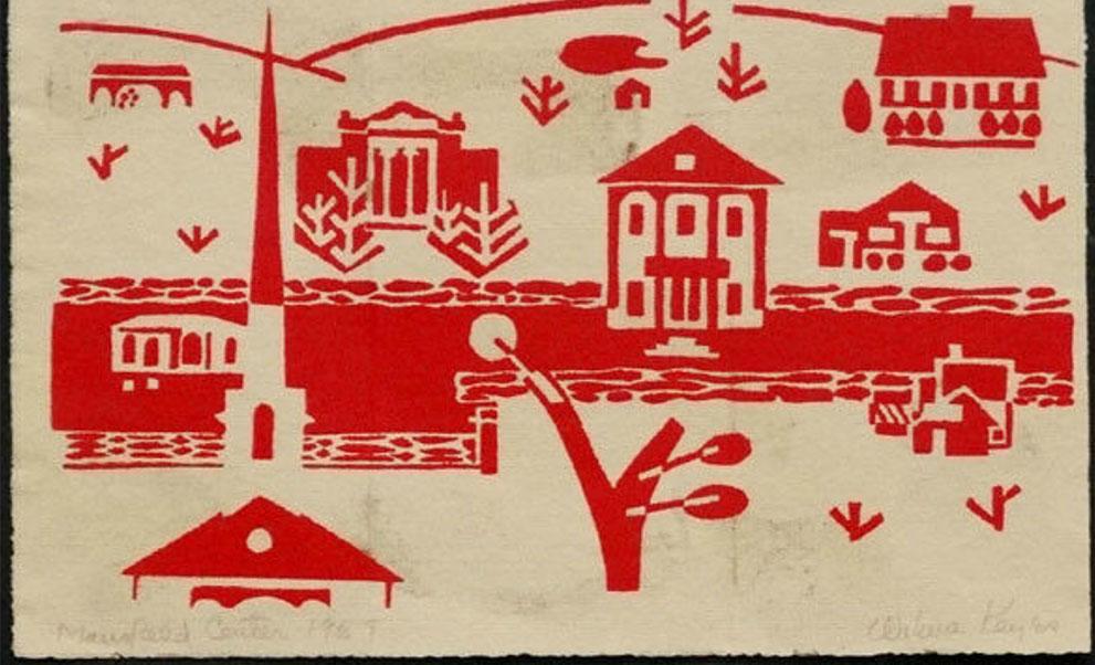 Wilma Keyes Block Print