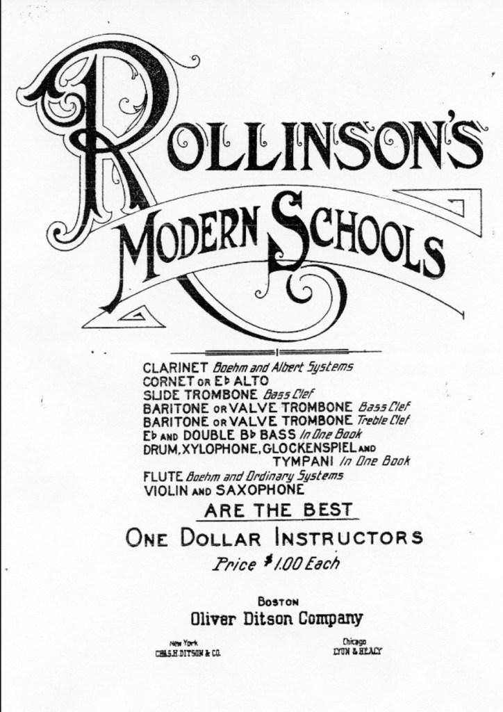 Rollinson's School poster