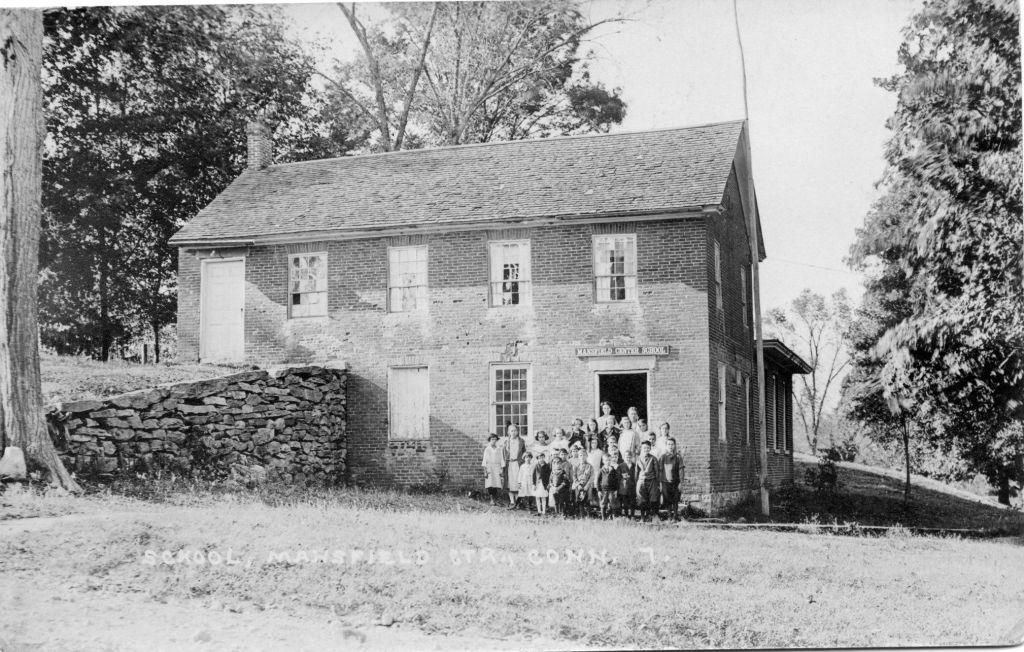 Mansfield Center School 1833