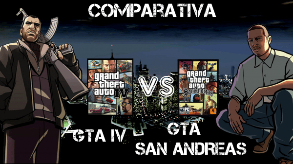 Grand Theft Auto IV VS Grand Theft Auto: San Andreas (1/6)