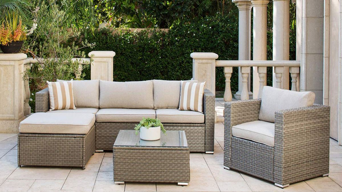 Review]Solaura Outdoor Furniture Set 6-Piece Wikcer ...