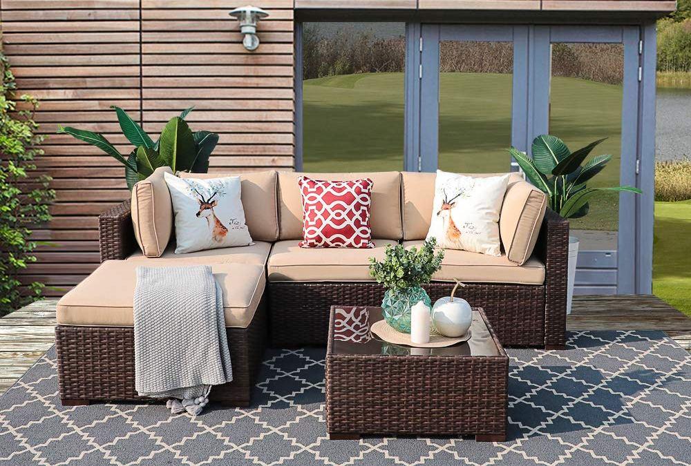 Review]Patiorama Outdoor Furniture Sectional Sofa Set (5 ...