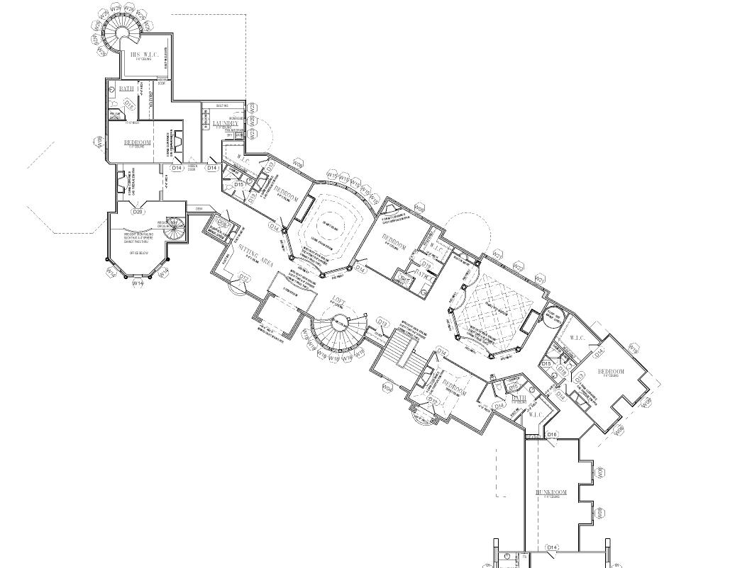 25 000 Square Foot Mansion W Floorplans