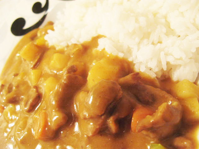 Japanese Glico Curry - the easy way out (1/6)