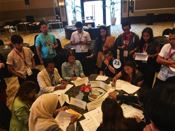ICONS Project Simulation at YSEALI Summit
