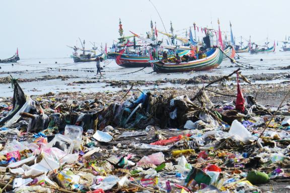 marine debris in Munacr