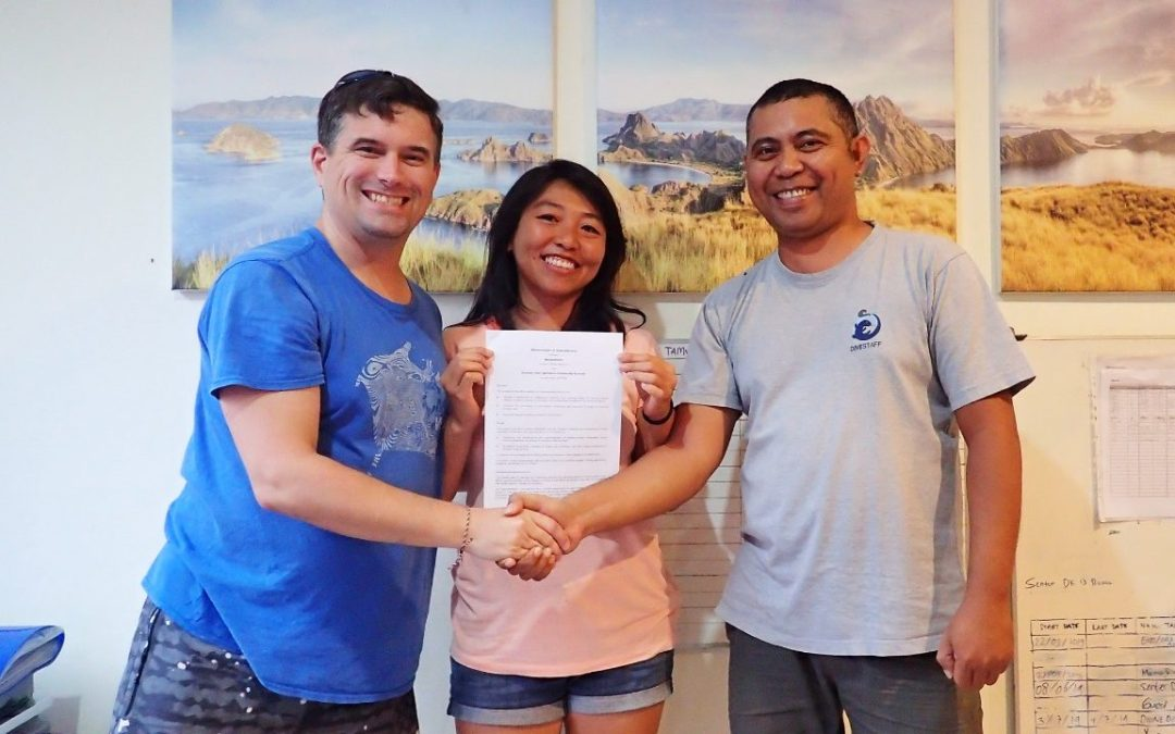 New collaboration to support sustainable marine tourism development in Komodo National Park