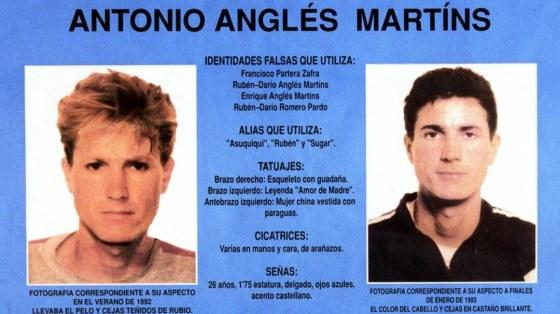 asesino de Miriam, Toñi y Desireé, antonio anglés, busca y captura,