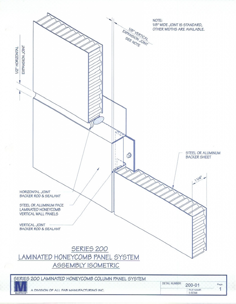 General Specification for Series 200 Composite Honeycomb