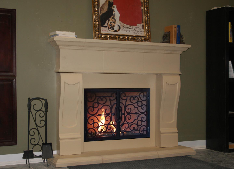 Fireplace Mantels Fireplace Surrounds Iron Fireplace