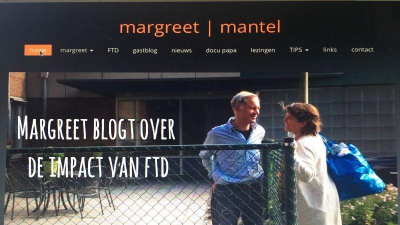 Margreet Blogt Over De Impact Van FTD: De Diagnose